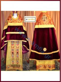 Ιερατικές Στολές βελούδο R1